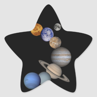 The solar system range our planets star sticker