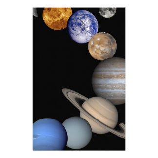 The solar system range our planets stationery