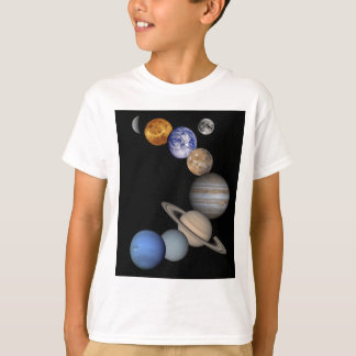 The solar system range our planets T-Shirt