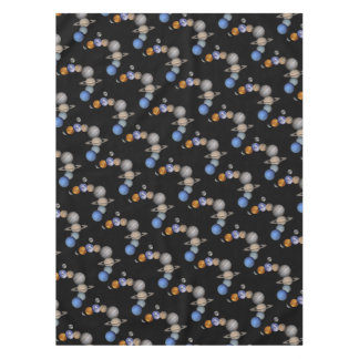 The solar system range our planets tablecloth