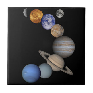 The solar system range our planets tile