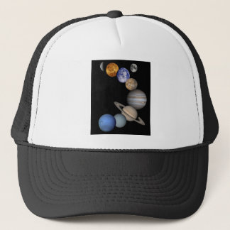 The solar system range our planets trucker hat