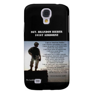 The Soldier's Creed Military Warrior Personalized