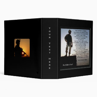 The Soldier's Creed Warrior Ethos Binder