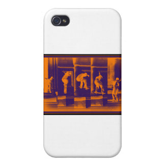 The Solid Orange iPhone 4 Cover
