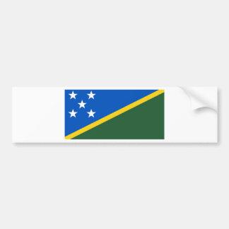 The Solomon Islands Flag Bumper Sticker