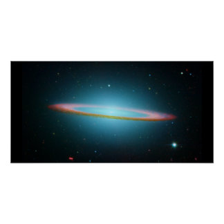 The Sombrero Galaxy Poster