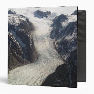 The Sondrestrom Glacier in Greenland 3 Ring Binders