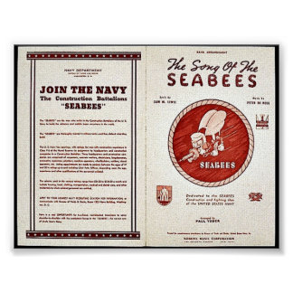 The Song Of The Seabees Poster