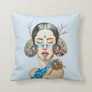 The song of the Sirens Throw Pillow