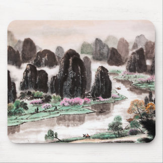 The Song of Traveler, Chinese Painting, Mousepad