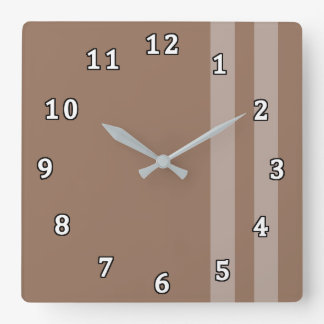 The Sophisticated Bachelor Clock