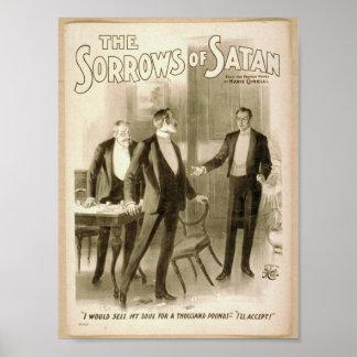 The Sorrows of Satan Poster