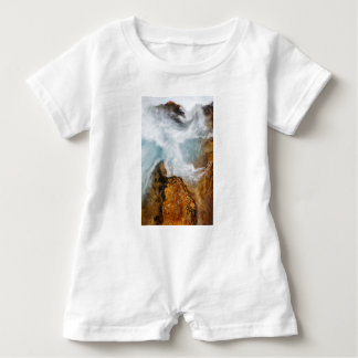 The Soteska Vintgar gorge in Autumn Baby Romper