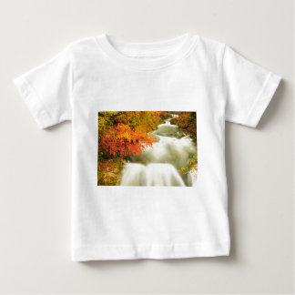 The Soteska Vintgar gorge in Autumn Baby T-Shirt