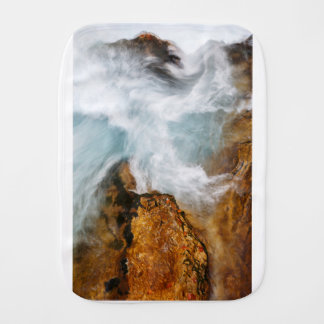 The Soteska Vintgar gorge in Autumn Burp Cloth