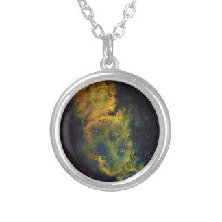 The Soul Nebula Silver Plated Necklace