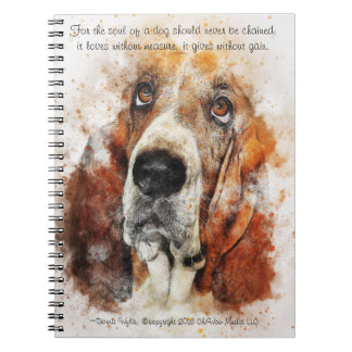 The Soul of a Dog Spiral Notebook