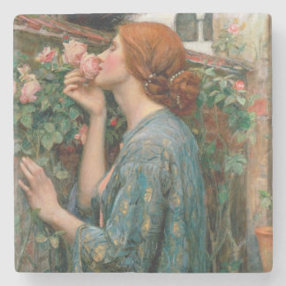 The Soul of the Rose, 1908 Stone Coaster