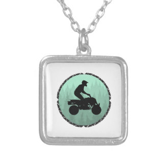 THE SOUL RIDE SILVER PLATED NECKLACE