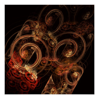 The Sound of Music Abstract Art Print