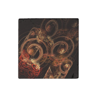 The Sound of Music Abstract Art Stone Magnets