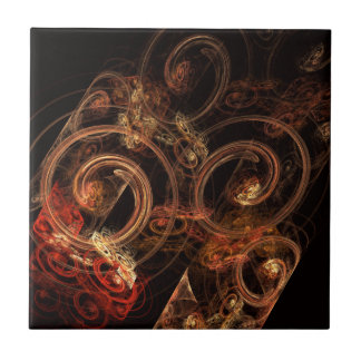 The Sound of Music Abstract Art Tile