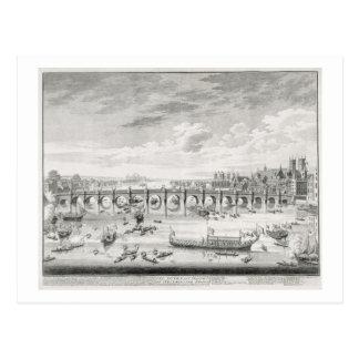 The South East Prospect of Westminster Bridge - Bo Postcard