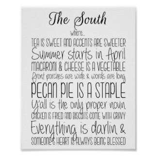 The South Print