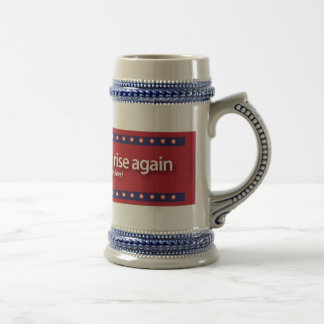 the south will rise again... beer stein