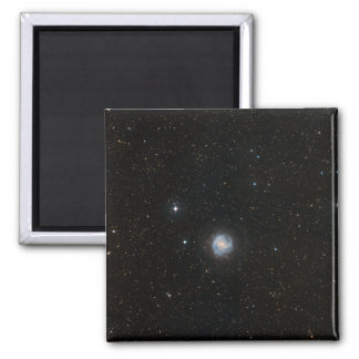 The Southern Pinwheel Galaxy 2 Square Magnet