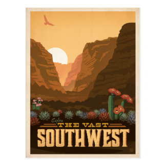 The Southwest | United States Postcard