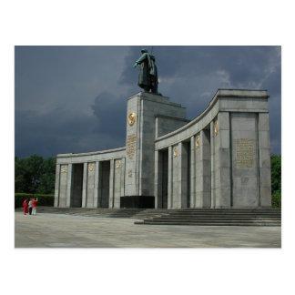 The Soviet War Memorial (Tiergarten) In Berlin Postcard
