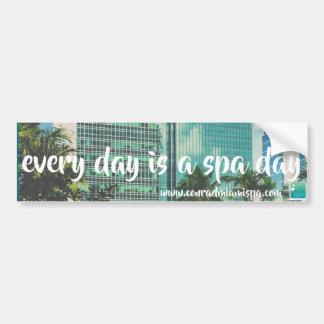 The Spa at Conrad Miami Bumper Sticker