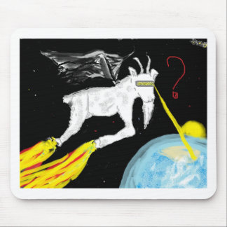 The Space Goat Mouse Pad