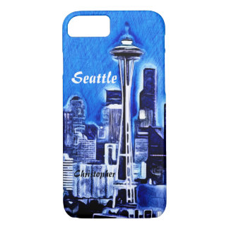 The Space Needle - Seattle, Washington iPhone 8/7 Case