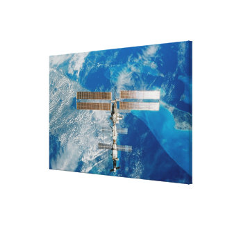 The Space Station Canvas Print