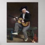 The Spanish Singer - Édouard Manet Poster
