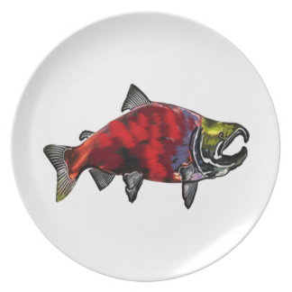 THE SPAWNING COLORS DINNER PLATES