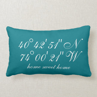 The Special Places | Geographical Coordinates Lumbar Pillow