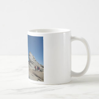 The Sphinx, Bucegi Mountains, Romania (design #2) Coffee Mug
