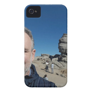 The Sphinx, Bucegi Mountains, Romania (design #2) iPhone 4 Case-Mate Case