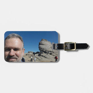The Sphinx, Bucegi Mountains, Romania (design #2) Luggage Tag