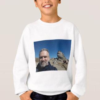 The Sphinx, Bucegi Mountains, Romania (design #2) Sweatshirt