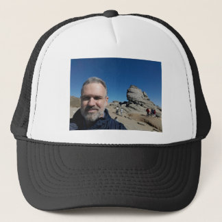 The Sphinx, Bucegi Mountains, Romania (design #2) Trucker Hat