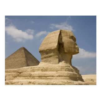 The Sphinx, Giza, Al Jizah, Egypt Postcard
