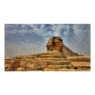 The Sphinx of Egypt Poster