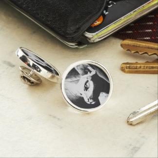 The Sphynx Cat Feline Original Art Lapel Pin