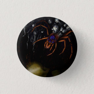 The Spider 1 Inch Round Button