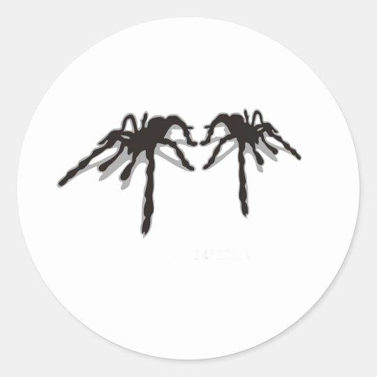 The Spider 3d Classic Round Sticker